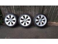 """Bmw alloy wheels 17"""""""