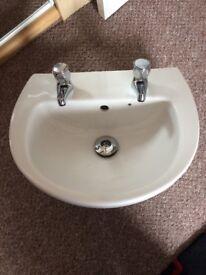 Sink ideal for downstairs toilet or en suite