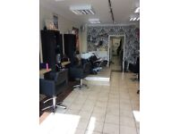 Hair stylist chair available to rent
