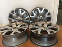 vauxhall/BMW fitment 18x7.5 ALLOYS