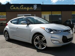 2013 Hyundai Veloster Tech - Navi, BU Cam, Pano,  H. Leather