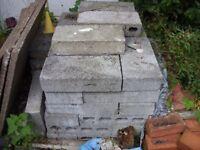 Concrete Blocks - Dense x45 approx.