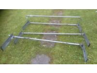 High roof rack, 500mm side plates