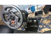 G29 + Shifter + Wheelstand