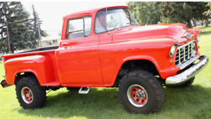 1955 chev shortbox step side $30,000 obo