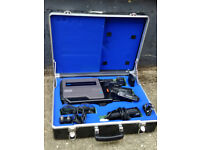 Ferguson Videostar VHS video camcorder with case and accessories
