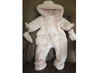 Absorba baby girl's snow suit