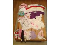 Baby girl's clothes, large bundle, to cover 3 to 12 months
