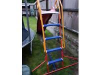 Childrens garden slide