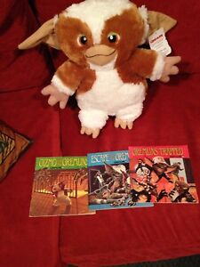 Stuffed character and read along books