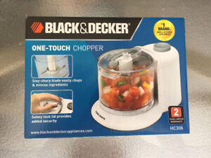 ONE-TOUCH  FOOD CHOPPER