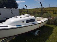 nimrod 18 ft trailer sailer
