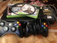 XBOX 360 Comes with 15 games