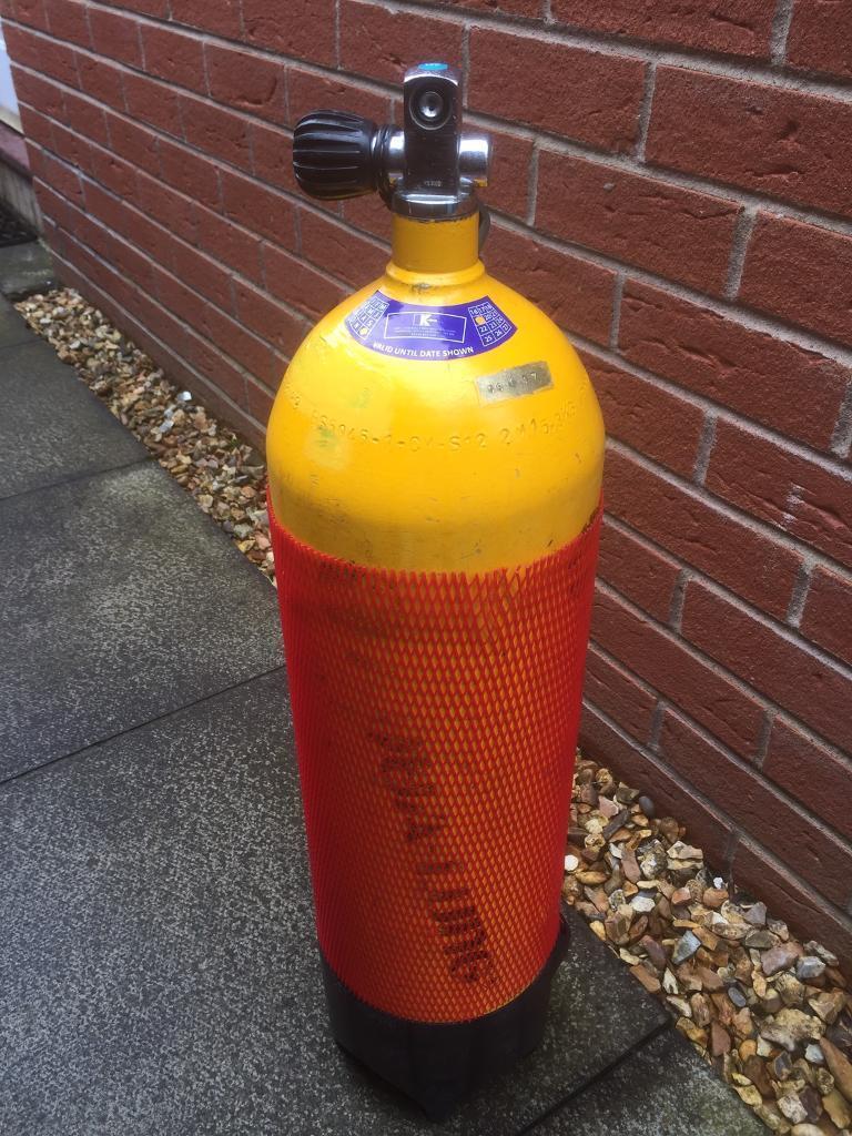 12l 232 bar scuba Diving cylinder A Clamp in test till end Dec 2019 | in  Coatbridge, North Lanarkshire | Gumtree