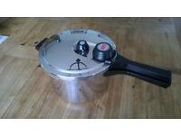 Prestige stainless steel pressure cooker (unused)