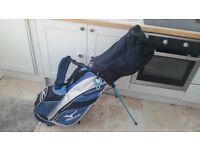 Mizuno Golf Clubs & Bag, balls, pegs, gloves