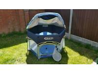 Graco Play Pen with sunshade