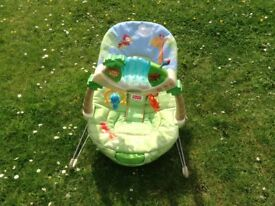 Fisher Price Baby bouncer seat with lights and sounds