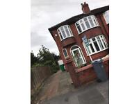 4 bedroom house to let in Chorlton