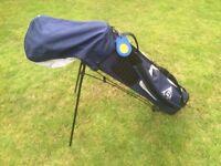 golf bag with golf clubs 14 fullset --- great value