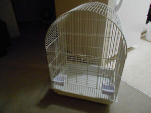 LARGE QUALITY BIRD CAGE FOR PARROT TO SMALL FINCHES .