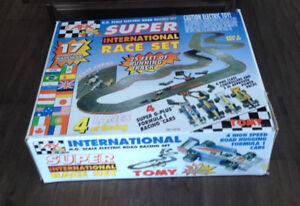 $120 · H.O. Scale Electric Road Racing Set H.O. Scale