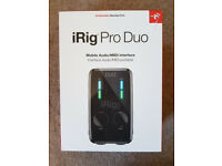 IK Multimedia iRig Pro Duo - Mobile Recording Interface