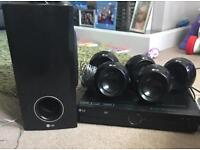 LG DVD HOME CINEMA SYSTEM, USB, SURROUND SOUND