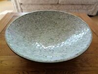 LARGE HANDCRAFTED CENTREPIECE DECORATIVE BOWL