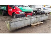 Antique Riveted Water Trough