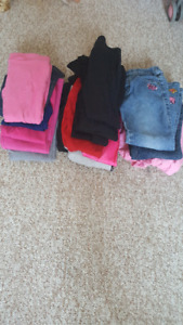 Girls size 4 pants