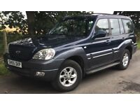 Hyundai Terracan 2.9 CRTD Diesel 4WD 4x4 Mega Low Miles @ Only 66490 Miles With Mercedes-Benz Engine