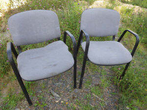 Set of 5 office chairs