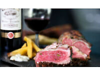 WOW ! £100 STEAKHOUSE RESTURANT GIFT CARD NOW ONLY £29 ONO !!!