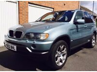 2002 BMW X5 Sport 3.0 Petrol Auto++Satnav++Immaculate Condition not vogue hse discovery ml xc90 td6