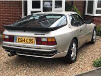 Classic Porsche 944s 16v 1988, New MOT