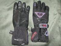 Pair of Frank Thomas women's motorbike gloves