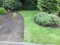 Gardening work undertaken