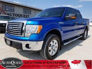 2011 Ford F-150 XTR - 5L SuperCrew 4X4, Remote Start & More!