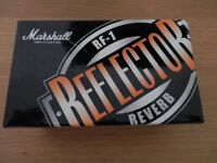 Marshall RF-1 Reflector Guitar Reverb Effects Pedal - New