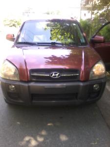 2008 Hyundai Tucson. Fully loaded. 4WD