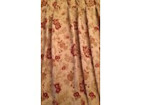Two pair off Beautiful dunelm curtains