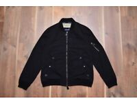 Burberry Brit Mens Medium Black Jacket New No Tags
