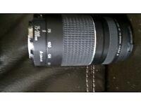 canon 75-300mm lense perfect condition