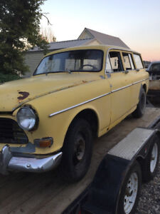 1963 volvo 122 amazon wagon