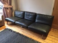 B&B Italia (Diesis) - Designer Italian Leather Sofa RRP £6,000