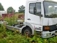 Mercedes Atego 7.5t Chassis Cab Breaking for spares