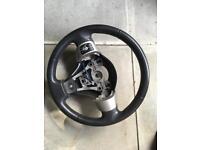 Toyota Yaris Steering wheel volume control airbag squib ring retro fit conversion kit