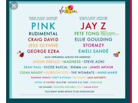 V Festival Saturday Tickets x 3