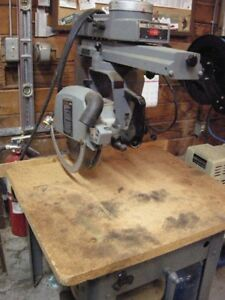 "Delta/ Rockwell 12"" Radial Arm Saw (220 volt, single phase)"
